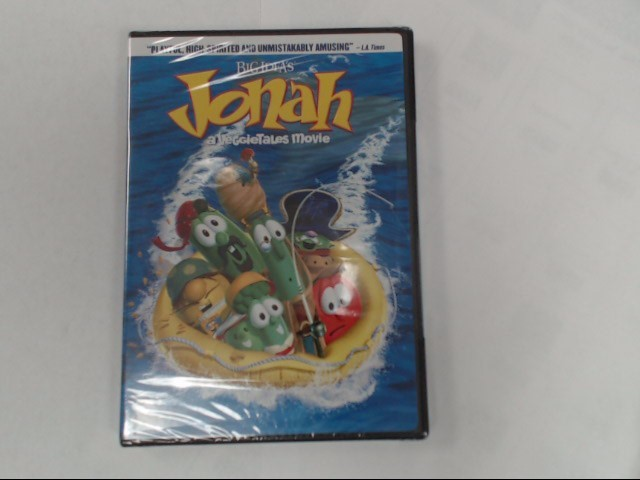 DVD MOVIE BIG IDEA'S JONAH A VEGGIETALES MOVIE