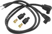 BIKERS CHOICE Motorcycle Part 109709 RED UNIVERSAL PLUG WIRE KIT