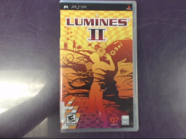 Sony PSP Game LUMINES: PUZZLE 2 PSP