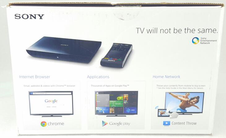 SONY Internet Player with Google TV NSZ-GS8