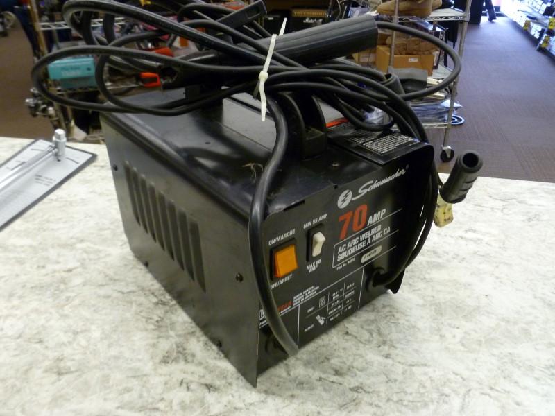 SCHUMACHER 94070 70 AMP 120 VOLT AC ARC WELDER
