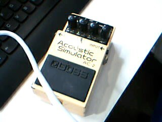 Boss AC-2 Acoustic Simulator Electric Guitar Pedal