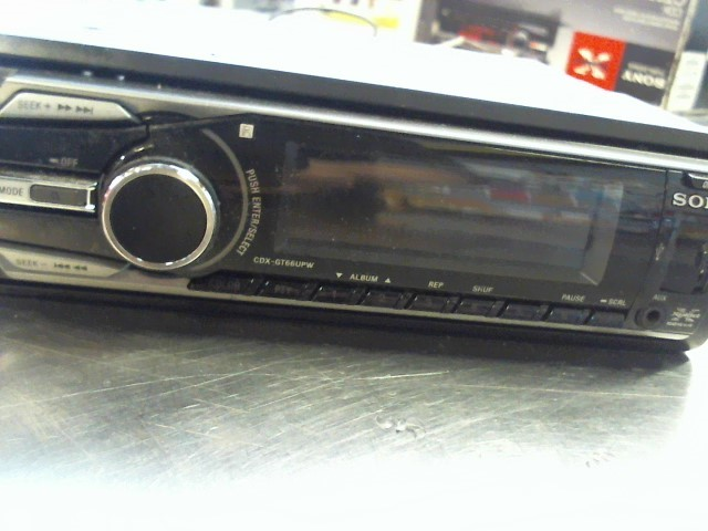 SONY Car Audio CDX-GT66UPW