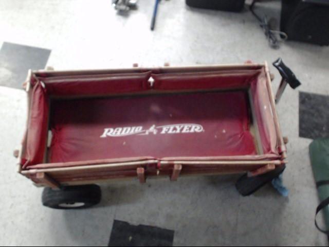 RADIO FLYER RETRO RED wagon