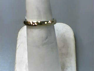 Lady's Gold Wedding Band 14K Yellow Gold 1.8dwt Size:6
