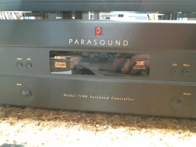 PARASOUND Home Media System 7100