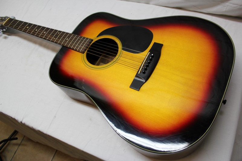 TAKAMINE Acoustic Guitar F-340S DREADNOUGHT SOLID SPRUCE TOP