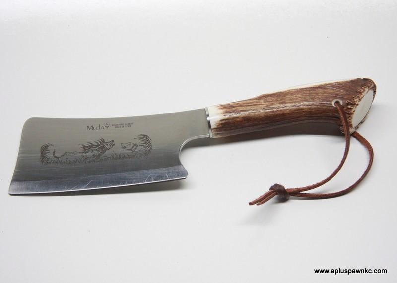 MUELA CROWN STAG HUNTERS KNIFE SET