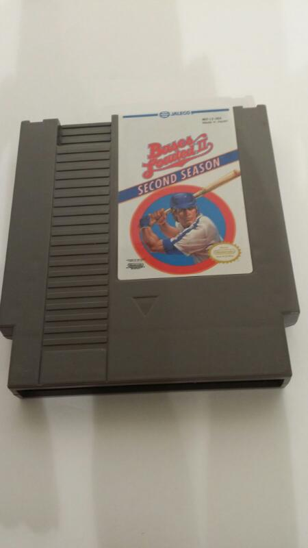 NINTENDO NES GAME BASES LOADED 2 SECOND SEASON]