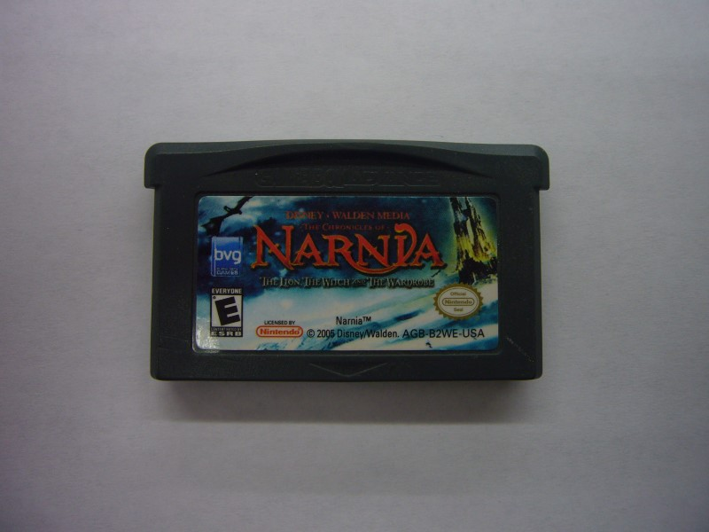 NINTENDO GBA Game NARNIA THE LION THE WITCH AND THE WARDROBE *CARTRIDGE ONLY*
