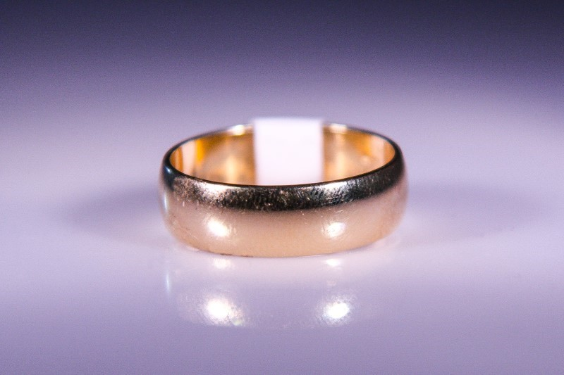 Gent's Gold Ring 10K Yellow Gold 4.3g Size:9