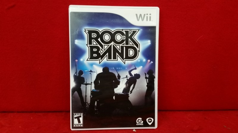 Rock Band (game only) (Wii, 2008)