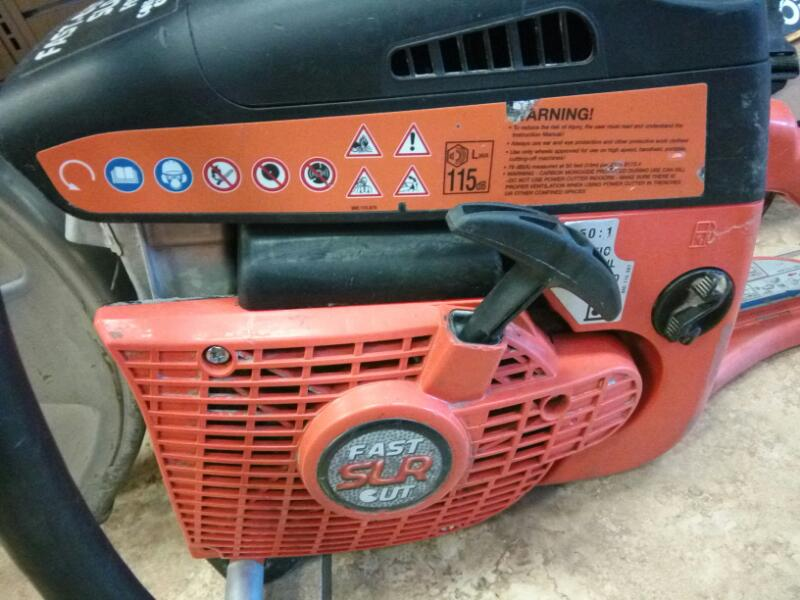 FAST-CUT Concrete Saw FC7314