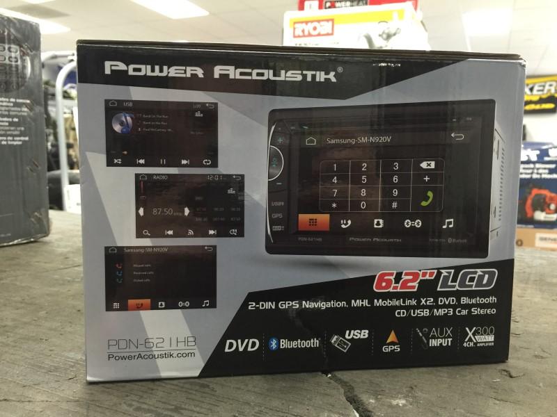 POWER ACOUSTIK Car Audio PDN621HB