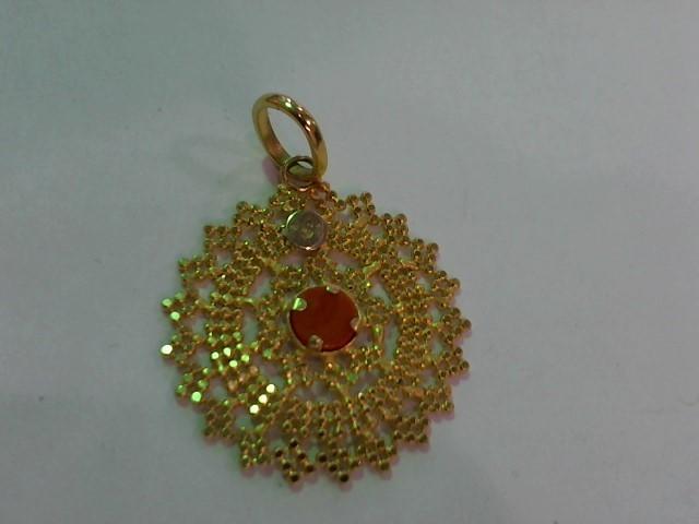 Gold Pendant 14K Yellow Gold 3.4g