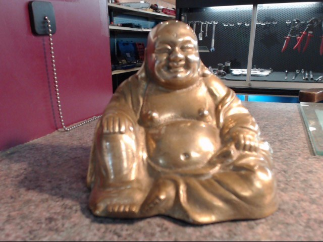 HAPPY BUDDHA, BRASS