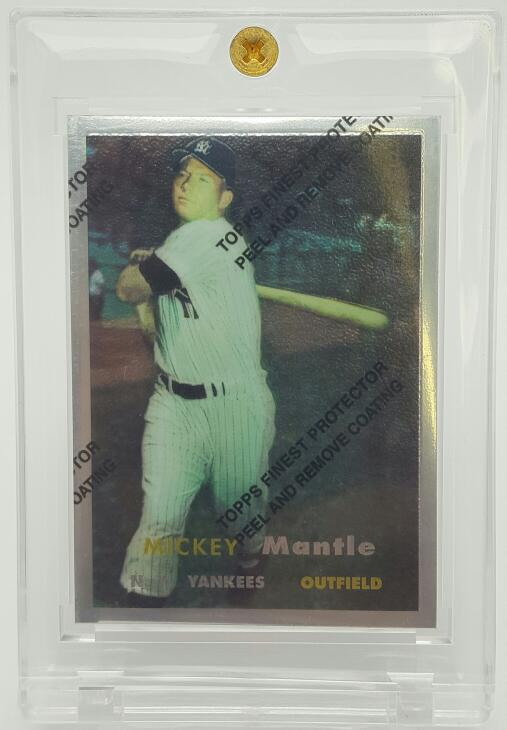 1996 TOPPS MICKEY MANTLE REFRACTOR