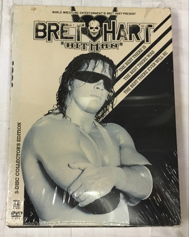 WWE - Bret Hart: Hitman (DVD, 2005, 3-Disc Set)