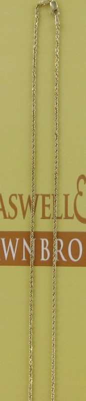 Gold Chain 14K Yellow Gold 3.3dwt