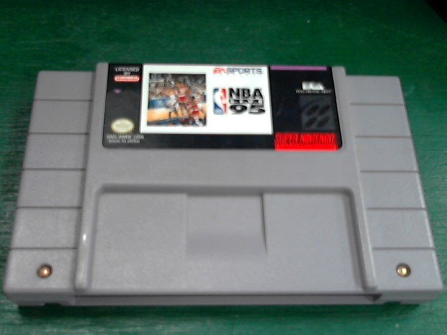 NINTENDO Nintendo SNES Game NBA LIVE 95 SNES