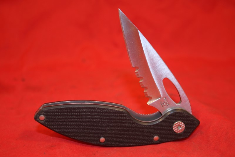 BUCK USA 181 NRA-ILA folding lock blade pocket KNIFE