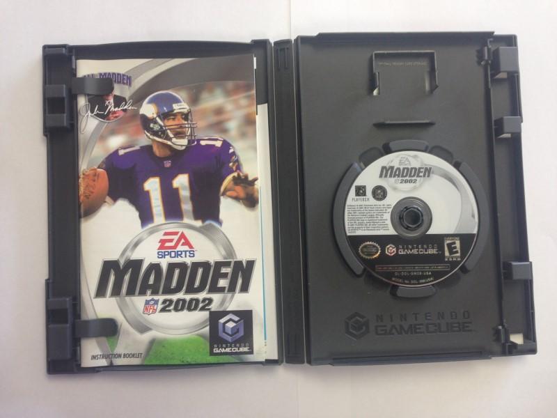 Madden NFL 2002 (Nintendo GameCube, 2002)