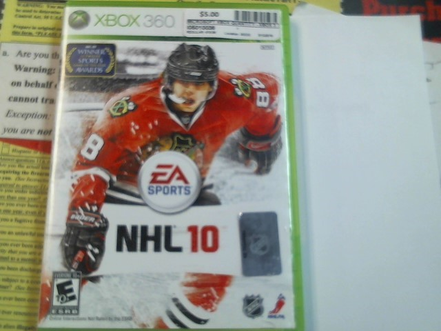 Xbox 360 NHL 10