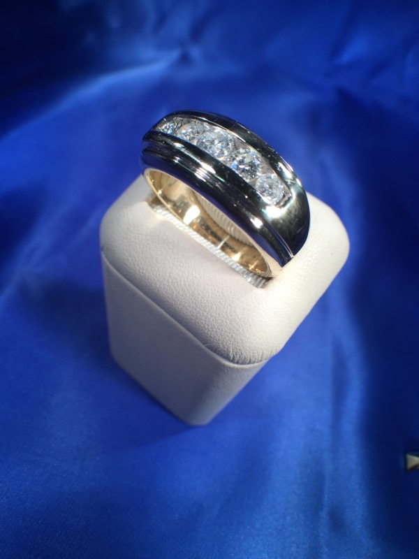 Gent's Gold Ring 14K Yellow Gold 9.7g