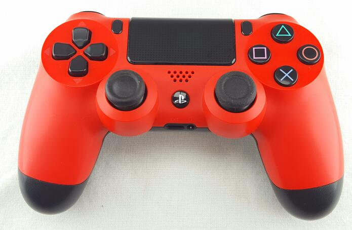 SONY PS4 WIRELESS CONTROLLER RED/BLACK CUH-ZCT1U