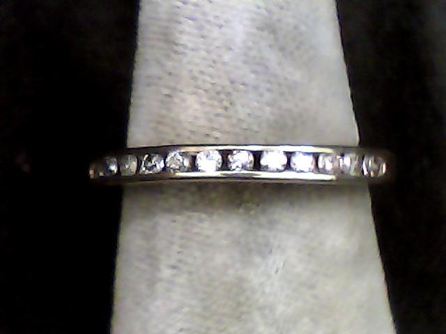 Lady's Diamond Wedding Band 12 Diamonds .060 Carat T.W. 10K Yellow Gold 1dwt