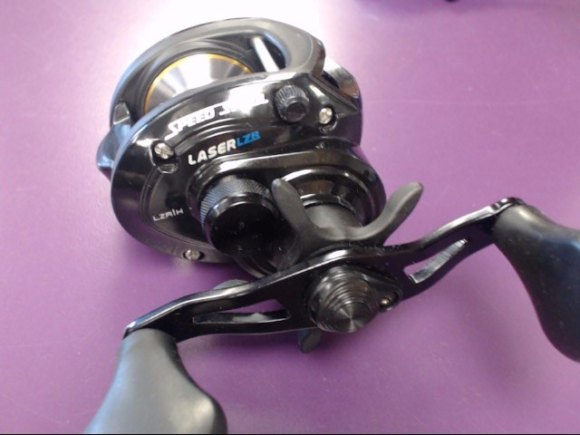 LEWS Jason Christie ZR Baitcasting Reel Speed Spool LASER LZR1H