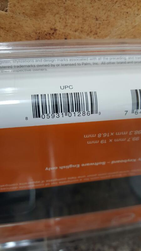 Palm 3169WWZ Universal Wireless Keyboard For LifeDrive Tungsten, E2, Treo