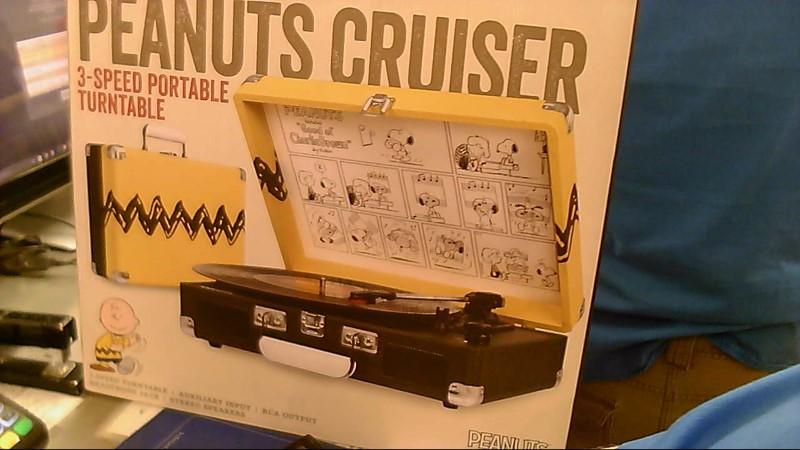 CROSLEY TURNTABLE PEANUTS CRUISER CR8005A-PT