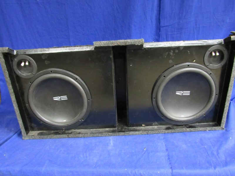 """RE AUDIO SRX 12"""" SUBS IN BOX"""