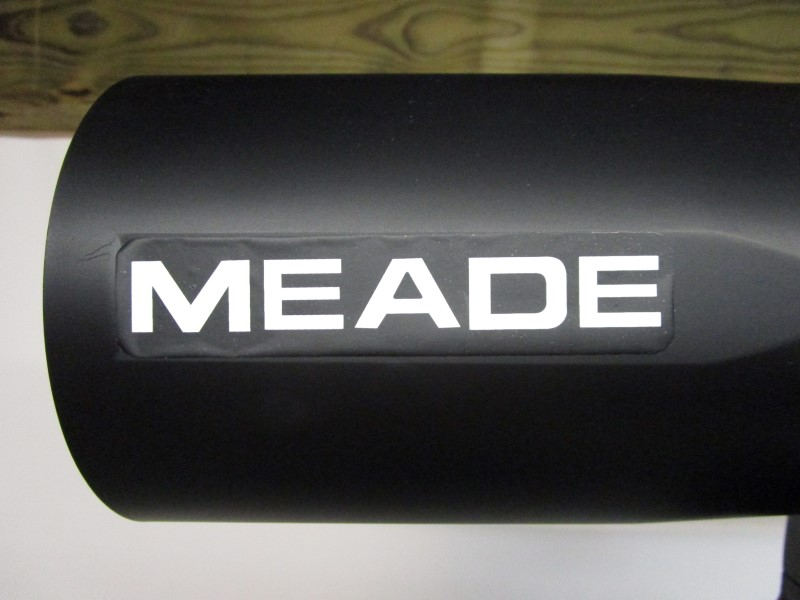 MEADE DS-2102 TELESCOPE SET, AUTOSTAR, LOCAL PICK-UP ONLY