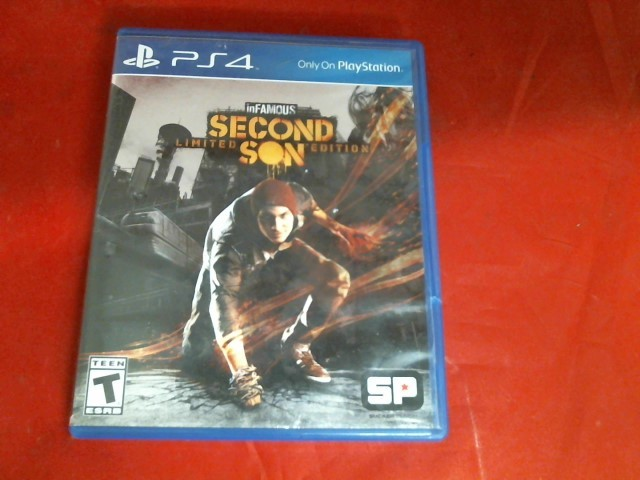 SONY Sony PlayStation 4 Game INFAMOUS SECOND SON PS4 GAME