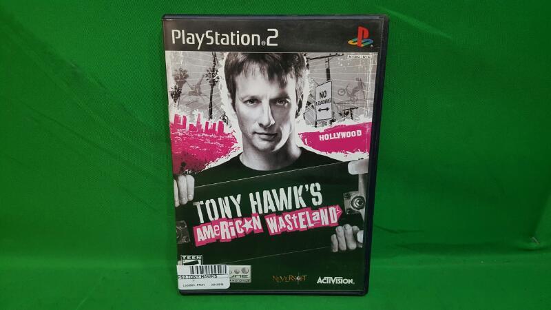 ACTIVISION Sony PlayStation 2 Game TONY HAWKS