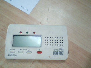KORG Musical Instruments Part/Accessory CHROMATIC TUNER CA-30