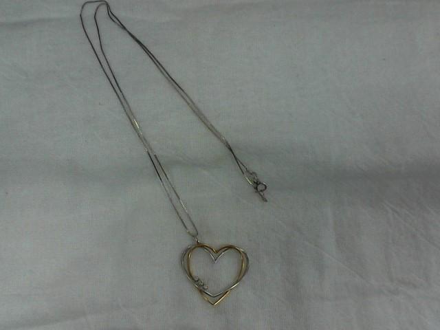 Synthetic Agate Gold-Diamond & Stone Scrap 3 Diamonds .09 Carat T.W.