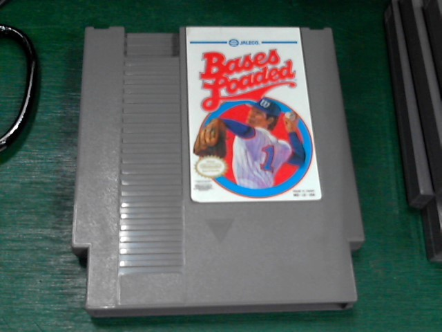 NINTENDO Nintendo NES Game BASES LOADED