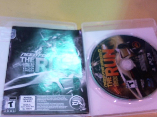 EA-ELECTRONIC ARTS Sony PlayStation 3 Game NEED FOR SPEED THE RUN LTD ED