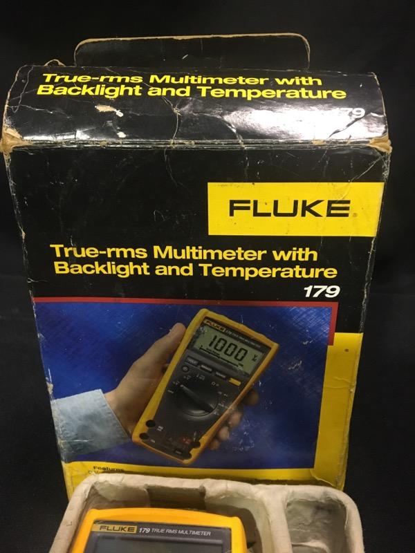 FLUKE Multimeter 179 TRUE RMS MULTIMETER
