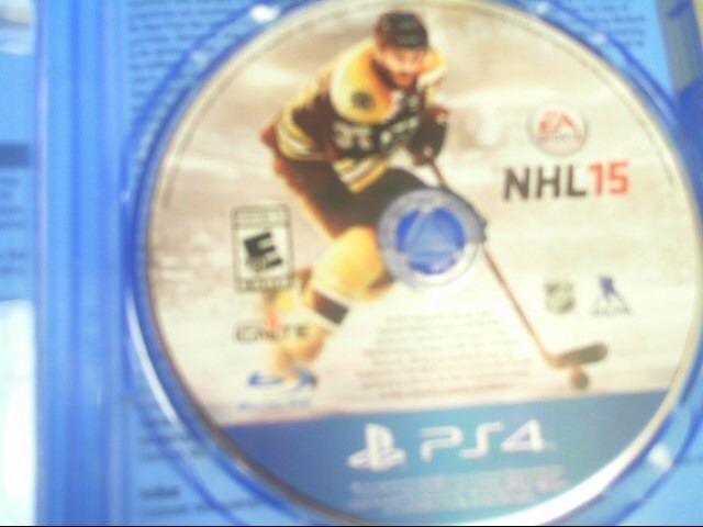SONY Sony PlayStation 4 Game NHL 15 - PS4