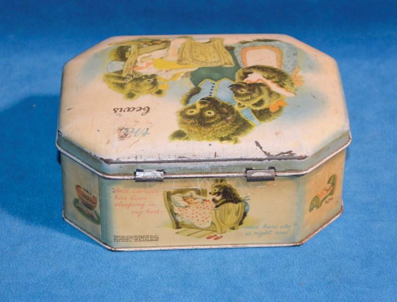 The Three Bears Tin Box 1948 The Little Golden Book