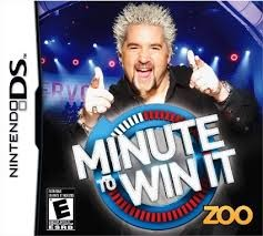 NINTENDO Nintendo DS Game DS MINUTE TO WIN IT