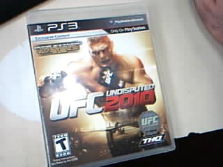 SONY Sony PlayStation 3 Game UFC UNDISPUTED 2010
