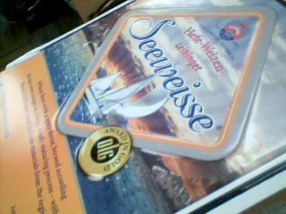 TIN SIGN SEEWEISSE