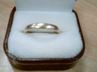 Gent's Gold Ring 14K Yellow Gold 3.6g Size:11.3