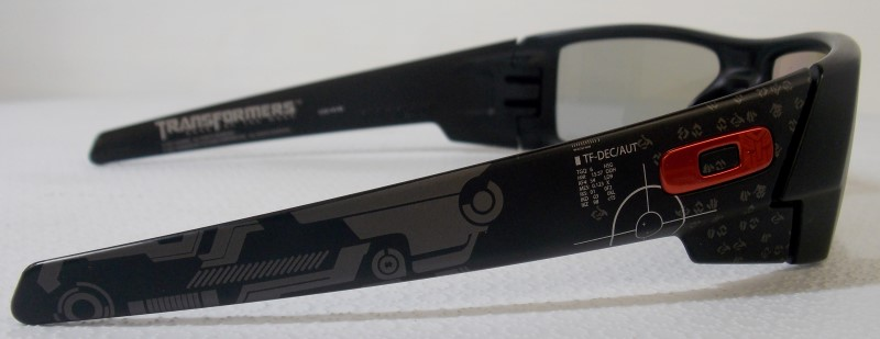 OAKLEY'S LIMITED EDITION TRANSFORMER 3D GASCAN GLASSES