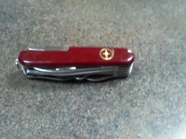 Pocket Knife 5 BLADE SWISS ARMY KNIFE
